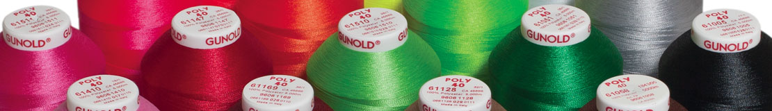 POLY Polyester Embroidery Thread