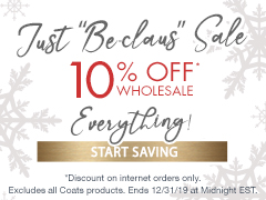 December Special - 10% Off Everything