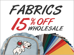 July Special - 15% Off Fabrics