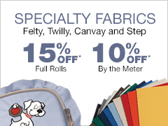 Specialty Fabric Sale